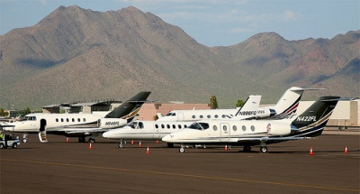 Scottsdale Phoenix jet charter aircraft listings